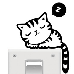 Free-Shipping-Creative-Hello-Cat-Switch-Stickers-Wall-Stickers-Home-Decoration-Bedroom-Parlor-Decoration_grande