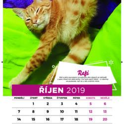 Kalendář na rok 2019 je již na skladě